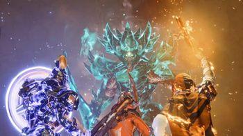 Guardian is fighting against Crota Phantasm