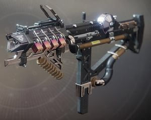 IKELOS SMG as it appears in the inventory screen
