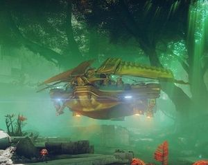 A Loyalist Barge on Nessus