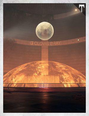 Skyline - Meridian Bay, Mars Grimoire card