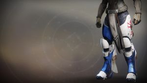 Lion Rampant exotic Titan boots from Destiny 2.