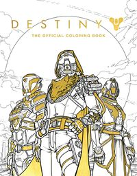 Destiny coloring book. Source: GameSpot. Artist: Ze Carlos. Accessed on 2017-08-05