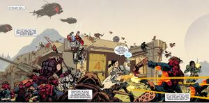 The Battle of the Twilight Gap. From Warmind #3.