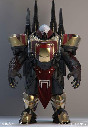A golden Centurion