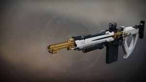 Pluperfect legendary auto rifle from Destiny 2: Season of Undying.