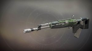 Call To Serve legendary scout rifle from Destiny 2