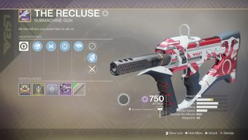 Picture of The Recluse from in game